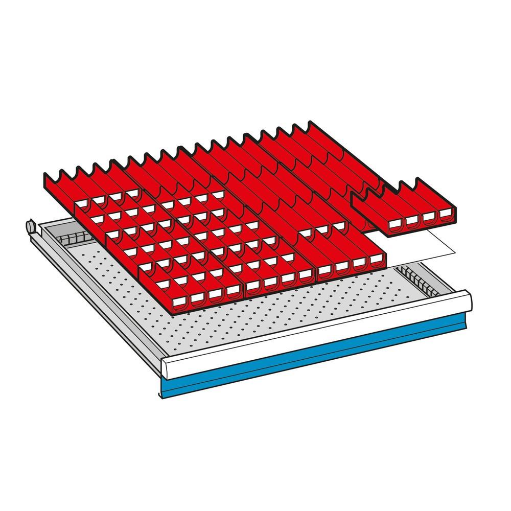 Trennwand-Einsatz für Schubladenschränke LISTA