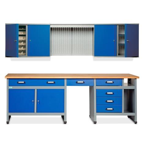 Werkstatt-Set Bern 2-teilig, Breite 2.400 mm
