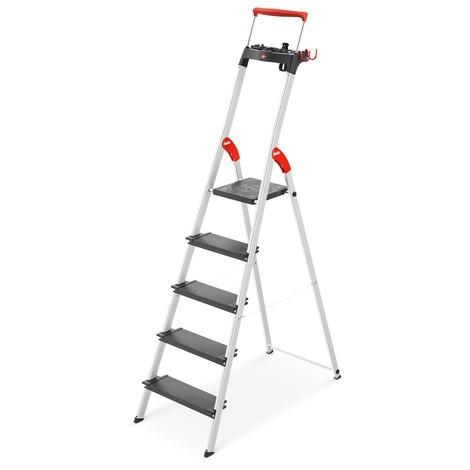 Stufen-Stehleiter Hailo TopLine