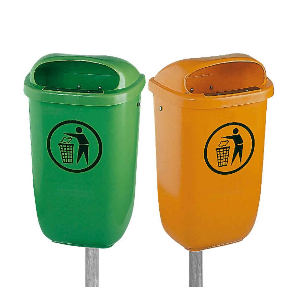 Abfallbehälter aus Kunststoff