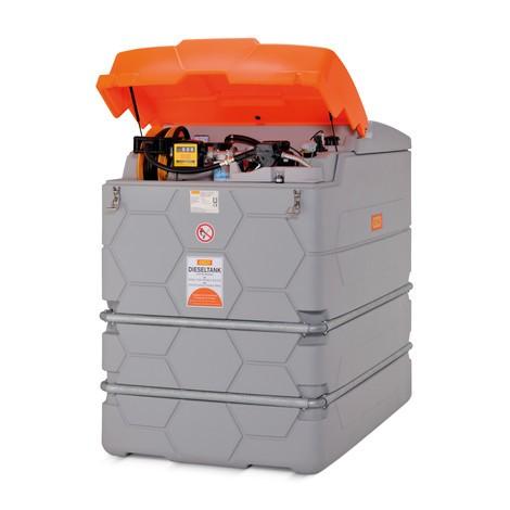 Tankanlage CEMO CUBE Outdoor Premium für Diesel