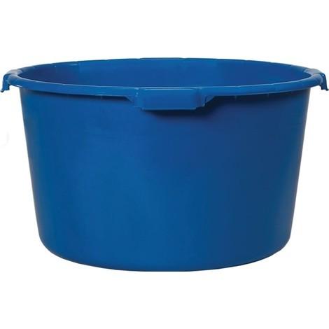 Mörtelkübel, 90 Liter, mit verstärktem Boden, blau