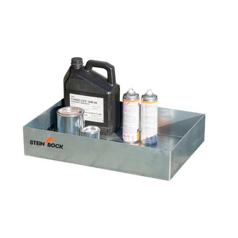 Steinbock® Paletten-Kleingebindewanne, aus Stahl, verzinkt
