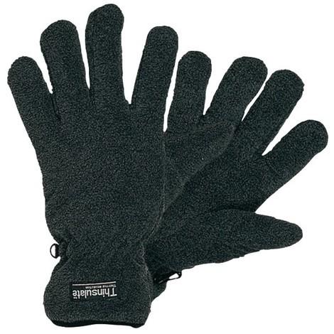 SCHEIBLER Kälteschutzhandschuh, schwarz/grau