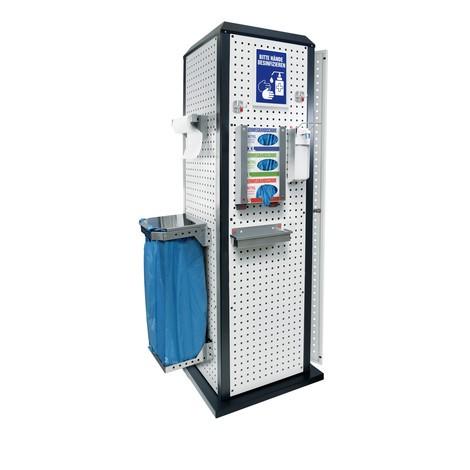 Kappes RasterPlan® Tool Tower, stationär, mit Tür + Fachboden