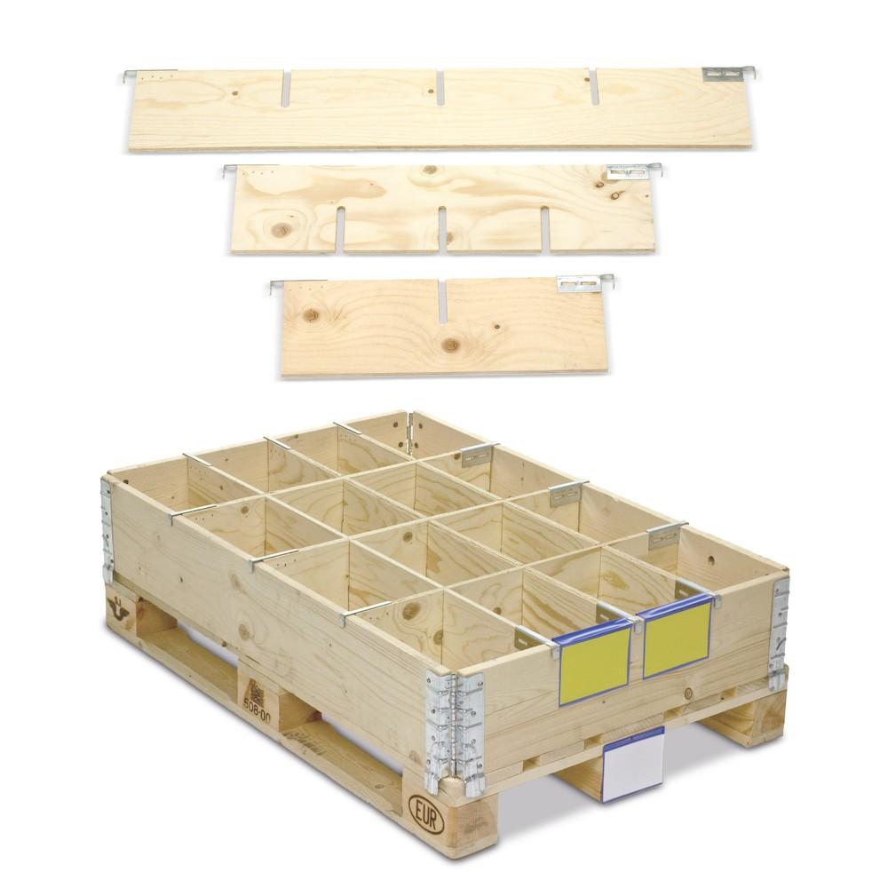 Aufsatzrahmenteiler aus Holz